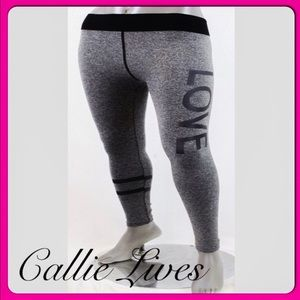 Callie Lives Pants - Plus Size Yoga Gym Fitness Sweat WorkOut