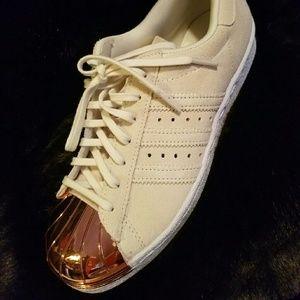 Adidas Shoes - Adidas Superstar 80's rose gold metal toe
