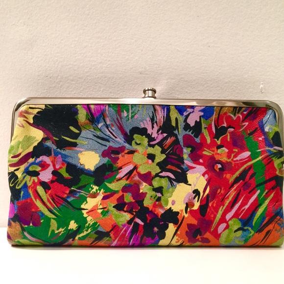 Hobo Bags Lauren Vivid Garden Double Frame Wallet Poshmark