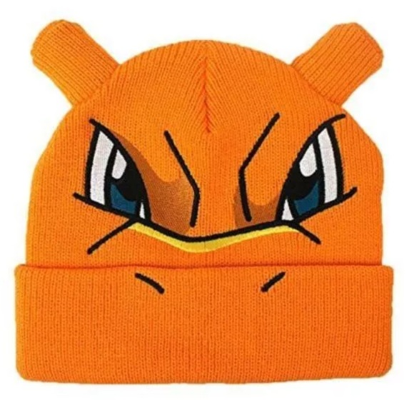 ad76c6e7405  Pokemon  Charizard 3D Ear Beanie Hat