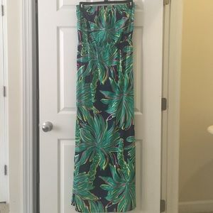 Lilly Pulitzer Tiger Palm Maxi