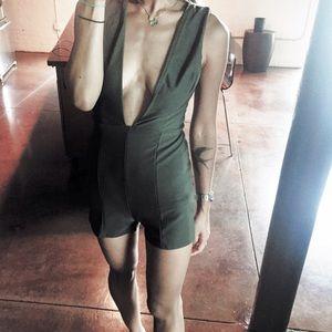 Other - ✖️SALE✖️Plunging neckline romper