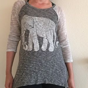 Closet Candy Boutique Tops - ❗️LAST CHANCE ❗️Elephant tunic