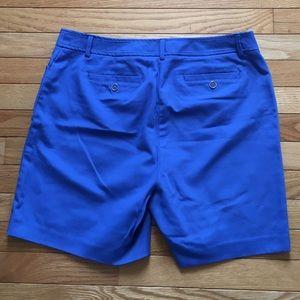 Rafaella Shorts - NWOT Blue Curvy Fit Shorts
