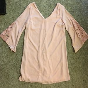 M Light pink Charlotte Russe dress