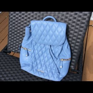 """Vera Bradley Leather quilted """"Amy"""" Backpack"""