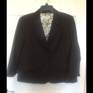 Kasper Jackets & Blazers - Kasper 14P Brown jacket worn once