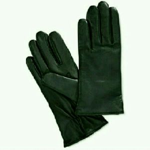 Charter Club Accessories - Cashmere Lined Leather Tech Gloves
