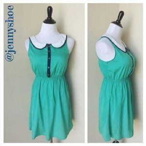 rhapsody Dresses & Skirts - {rhapsody} peter pan collar dress