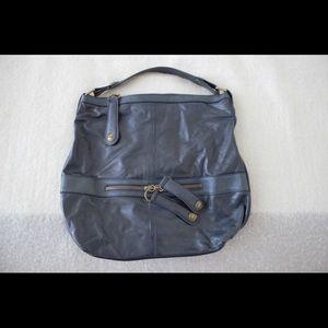 Gerard Darel Handbags - Gerard Darel Midday Midnight Hobo Bag