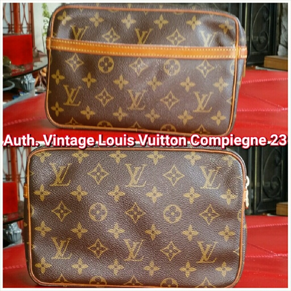 100 off louis vuitton handbags auth vintage lv clutch compiegne 23 from no trade 39 s closet. Black Bedroom Furniture Sets. Home Design Ideas