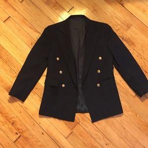 Vintage schoolboy double breasted blazer