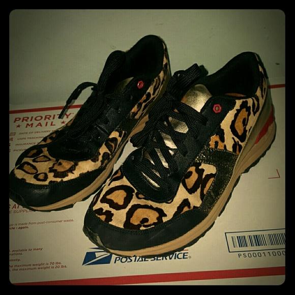 a2a4d51baf2461 Sam Edelman DAX 8.5 39.5 sneakers calf leopard. M 57dc6840f739bc36ff00d31c