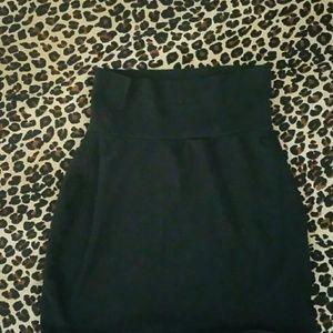 Victoria Secrets PINK black skirt