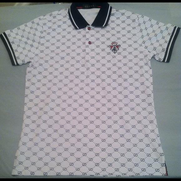 ddc1066ac Gucci Shirts | Custom Polo Shirt | Poshmark