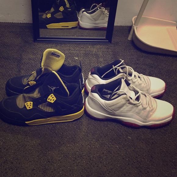 Jordan shoes cav cherry low deal poshmark jpg 580x580 Cav 4s white 57df96ec1