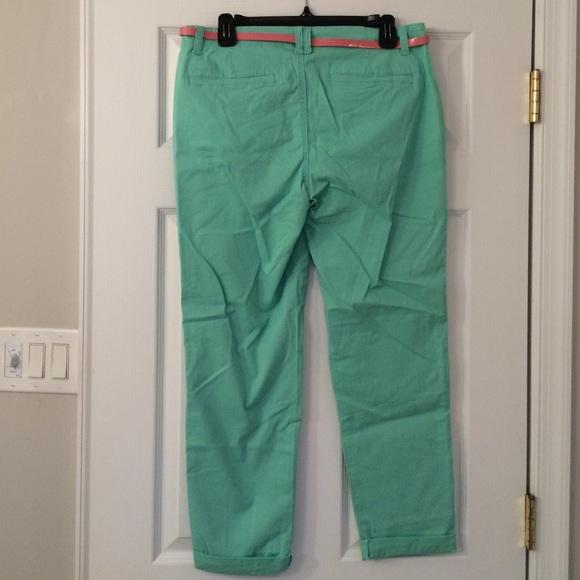 Bandolino - Bandolino Sea Foam Green Ankle Pants from Shannon's ...