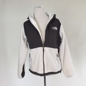 North Face Jackets & Blazers - White North Face Hooded Denali