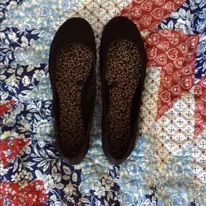 Shoes - Black flats - Size 6