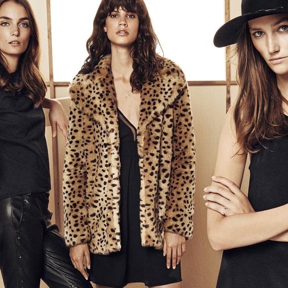 ad204d46e507 Mango Jackets & Coats   Nwot Faux Fur Leopard Print Coat   Poshmark