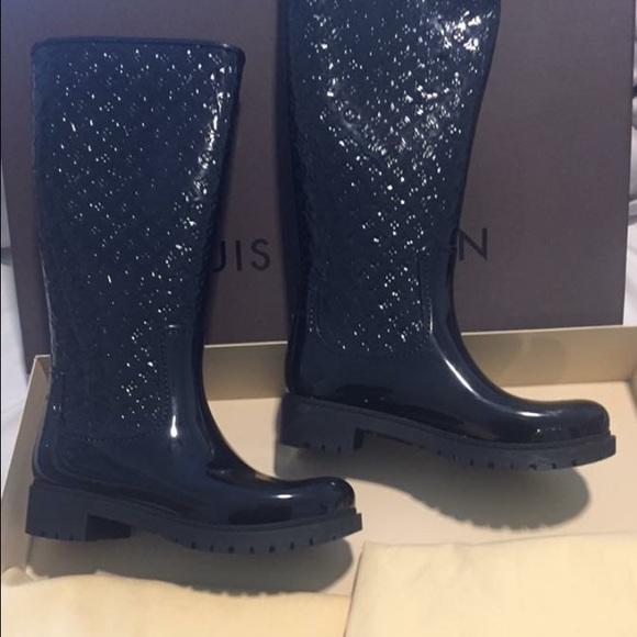64e946b93d0 Louis Vuitton Shoes - Louis Vuitton rain boot 40