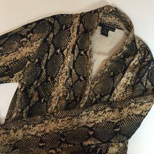 Grace Sweaters - Snake print cardigan