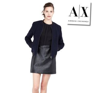 Armani Exchange Dresses & Skirts - 🎀HP🎀 Armani AXCoated tweed dress- Firm