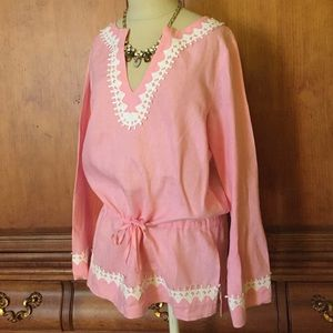 Vintage Lilly Pulitzer Blouse - White label