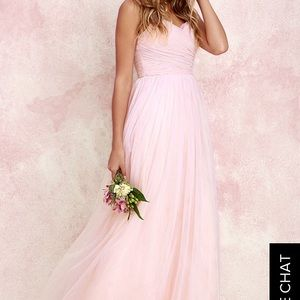 Lulus Blush dress