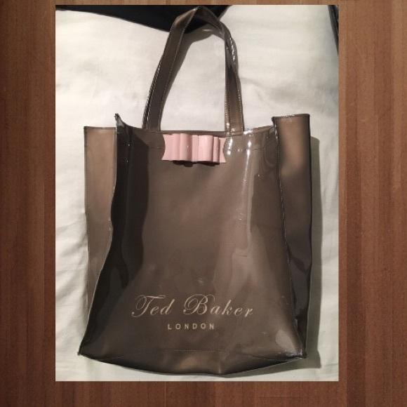 b52638934a6 Ted Baker London Bags | Ted Baker Plastic Bag | Poshmark