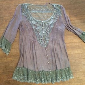 Love Stitch Tops - Fancy lace top