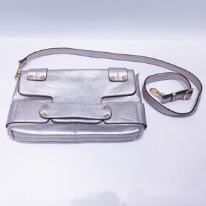 Melie Bianco Handbags - Melie Bianco🍾champagne color purse‼️2 bags in one