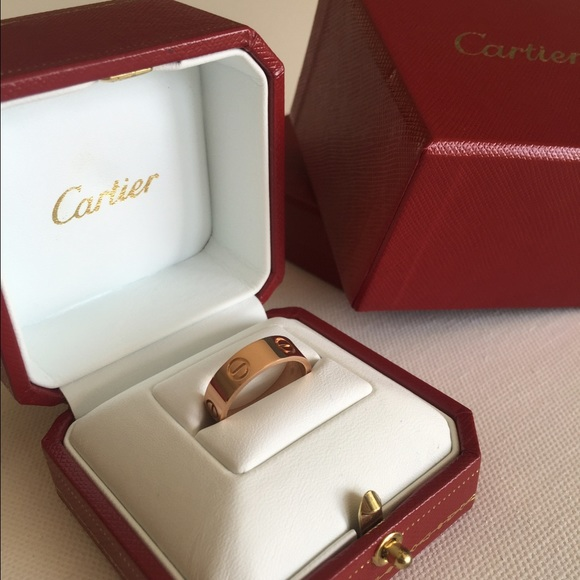 35a73fa32b27 Cartier Jewelry - 💯% Authentic Cartier Love Ring