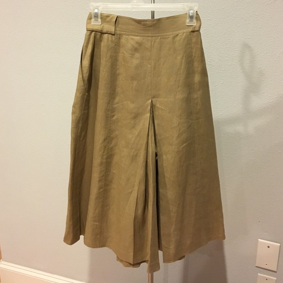 88% off Pants - Escada Linen Gaucho Pants from Honee's closet on ...