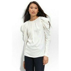 Long sleeve BCBGMAXAZRIA top