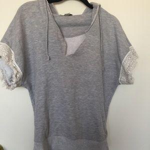 Forever21 Short Sleeve Sweatshirt