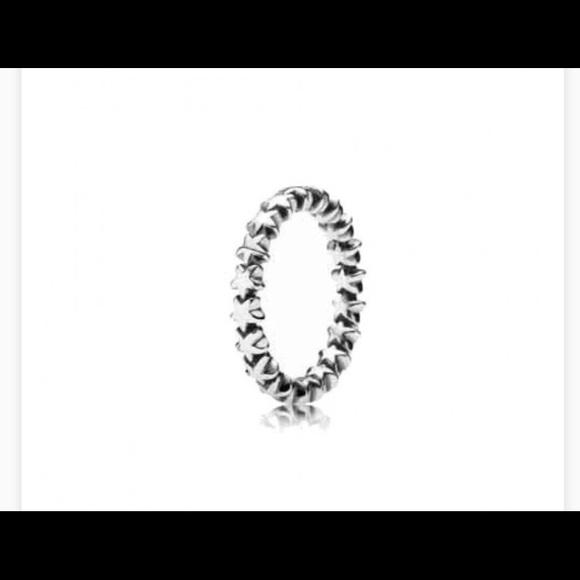 Pandora Jewelry Star Trail Ring Poshmark