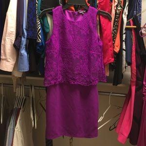 Gianni Bini purple dress super cute