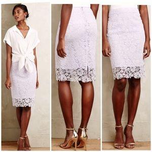 Anthropologie Dresses & Skirts - Anthropologie Lace Skirt
