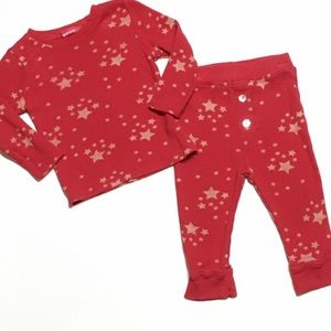 LAmade Other - LAmade Red Star Thermal PJs