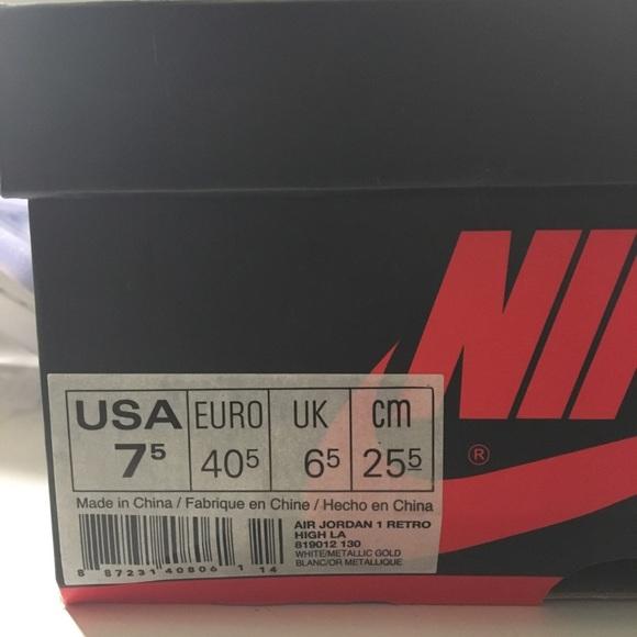 Nike Shoes - NIKE MEN'S AIR JORDAN 1 RETRO HIGH OG LOS ANGELES
