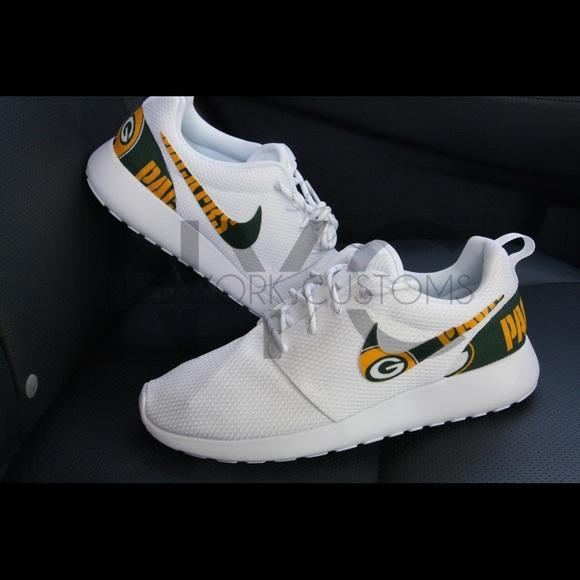 los angeles dddbb e2dcf ... us sneaker shop f1577 13914 nike roshe green bay packers .
