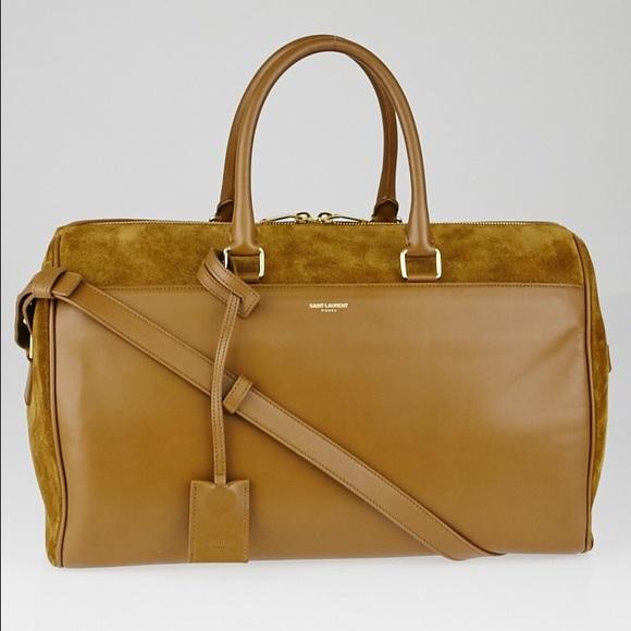 58b5d2653833 Saint Laurent 12 Duffle Bag
