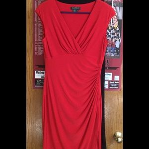 Red dress knit 5th