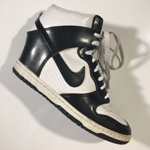 WOMEN'S NIKE DUNK SKY HI SNEAKER WEDGE