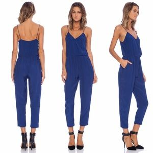 Motel Rocks Dresses & Skirts - Motel Blue Helene Jumpsuit