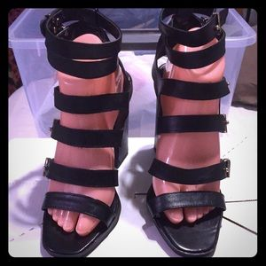 Bumper Shoes - Brand New Strapy Sandals