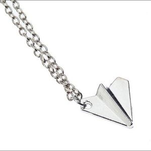 Other - Unisex Airplane Pendant Necklace