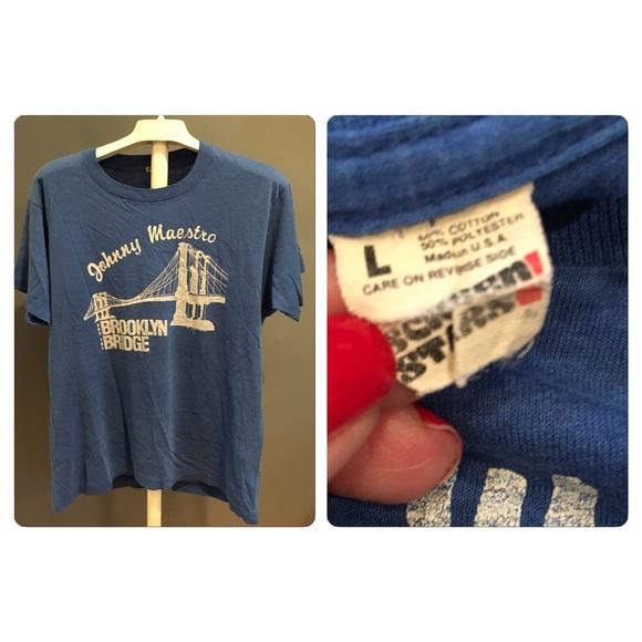 0a31088e Vintage Tops | Vtg Johnny Maestro The Brooklyn Bridge Tshirt | Poshmark