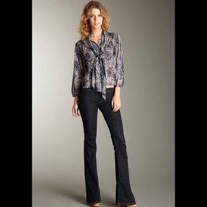 TEXTILE Elizabeth and James Denim - Elizabeth and James Textile Bell Bottom Jeans